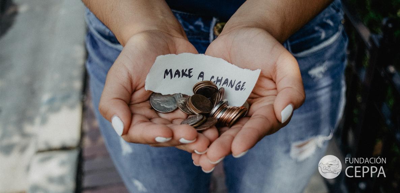 Donaciones a la fundación por medio de PayPal